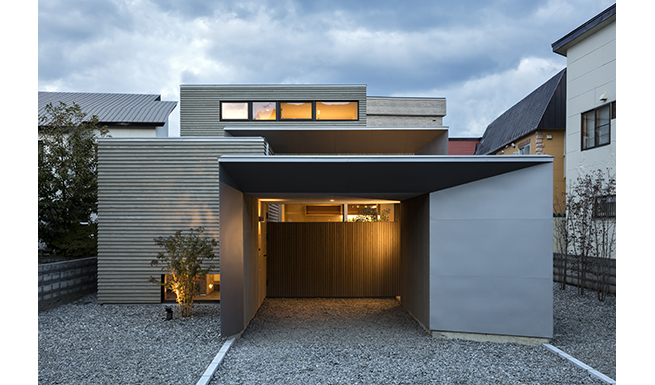4 box court ワークスリスト tao建築設計 北海道 札幌の建築設計事務所